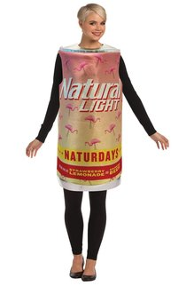 Adult Naturdays Beer Can Costume