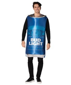 Adult Bud Light Beer Can Costume