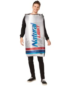 Adult Natural Light Can Beer Costume