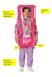 Adult Barbie™ Ken Doll Box Costume