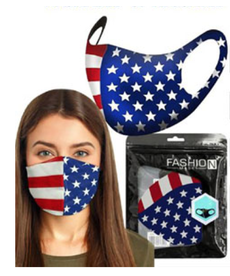Fashion Cloth Face Mask: Patriotic