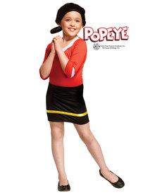 Fun World Costumes Kids Olive Oyl Costume