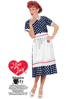 Fun World Costumes Classic Polka Dot Dress (I Love Lucy)