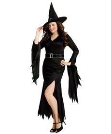 Fun World Costumes Plus Size Gothic Witch