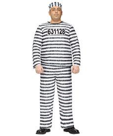 Fun World Costumes Plus Size Jailbird