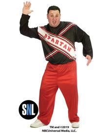 Fun World Costumes Plus Size Spartan Spirit Cheerleader: SNL™ (Men's)