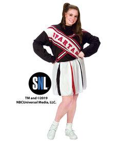 Fun World Costumes Plus Size Spartan Spirit Cheerleader: SNL™ (Women's)