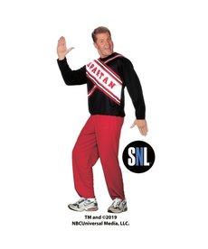 Fun World Costumes Spartan Spirit Cheerleader: SNL™ (Men's)