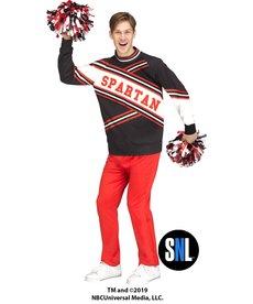 Fun World Costumes Deluxe Spartan Cheerleader: SNL™ (Male)