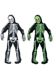 Fun World Costumes Kid's Totally Skelebones Costume
