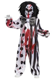 Fun World Costumes Bleeding Killer Clown