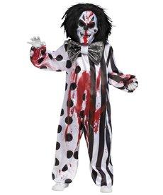Fun World Costumes Bleeding Killer Clown