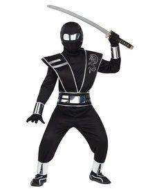 Fun World Costumes Silver Mirror Ninja