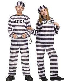 Fun World Costumes Kids' Jailbird