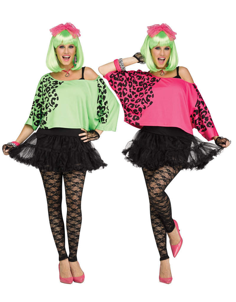 Fun World Costumes Women's 80's Crop Top