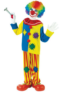 Fun World Costumes Kid's Big Top Clown