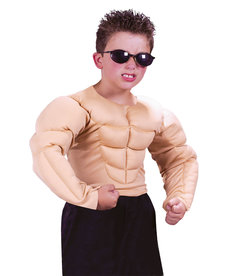 Fun World Costumes Kids Muscle Shirt