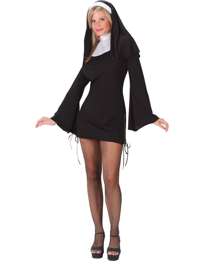 Fun World Costumes Women's Adult Naughty Nun Costume
