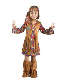 Fun World Costumes Toddler Peace & Love Hippie Costume