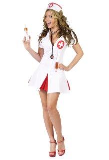 Fun World Costumes Women's Adult Say Ahhhh! Nurse Costume
