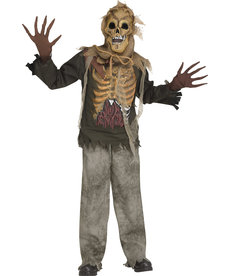 Fun World Costumes Kids Skull Crow Costume