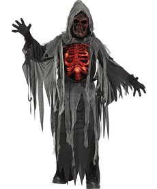 Fun World Costumes Kids Smoldering Reaper Costume