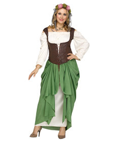 Fun World Costumes Women's Plus Size Wench Costume