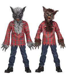 Fun World Costumes Kids Werewolf Costume