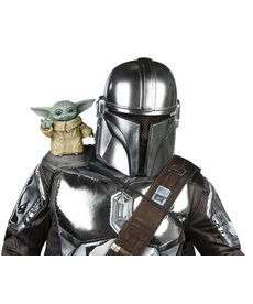Rubies Costumes The Child (Baby Yoda) Shoulder Sitter Halloween Accessory (Star Wars The Mandalorian)
