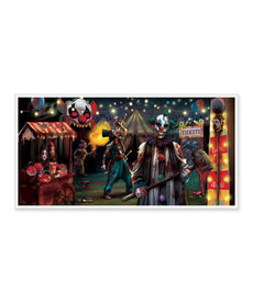 "Horizontal Banner - Creepy Carnival / Side Show (65""x33 1/2"")"