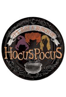 """7"""" Round Foil Plate: © Disney Hocus Pocus (8pk.)"""