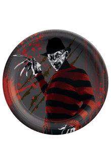 "7"" Round Plates: Nightmare On Elm Street™ (8pk.)"