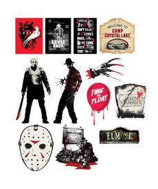 Mixed Warner Brothers Horror Cutouts (12pk.)