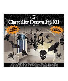 Glitter Paper Chandelier Decorating Kit
