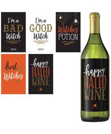 Wicked Bottle Labels (5pk.)