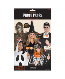 Halloween Words Photo Prop Kit