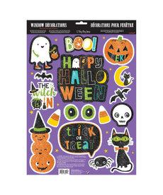Glitter Window Decorating Kit - Halloween
