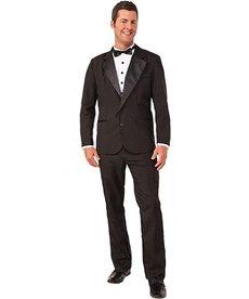 Adult Instant Zip-Up Tuxedo Costume
