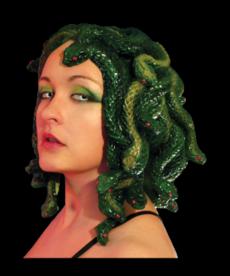 Trick or Treat Studios Medusa Head Piece