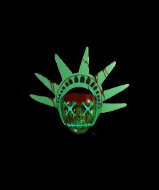 Trick or Treat Studios Lady Liberty Mask (Purge)