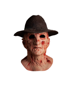 Trick or Treat Studios The Dream Master: Deluxe Freddy Mask with Hat (A Nightmare on Elm Street 4)