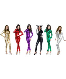 Women's Liquid Metal Long Sleeve Unitard