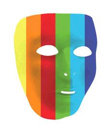 Amscan Rainbow Full Face Mask