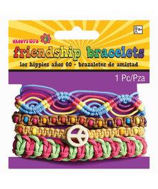 Amscan 60's Festival Friendship Bracelets