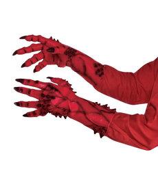 Amscan Devil Sculped Hands Gloves