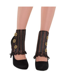 Women's Steampunk Spats