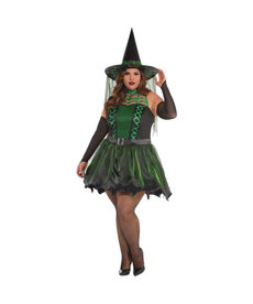 Amscan Women's Plus Size Spell Caster Witch - XXL (18-20)
