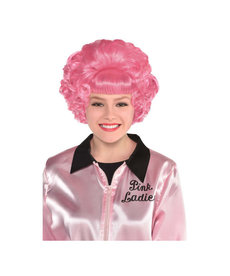 Grease Frenchy Pink Wig