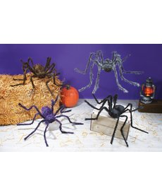 "Fun World Costumes 50"" Posable Spider Halloween Decoration"