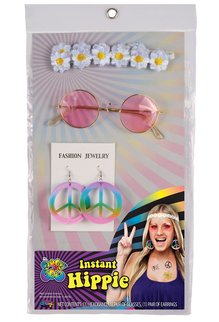 Fun World Costumes Decades Instant Kit